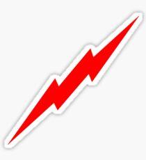 Pegatina Red Lightning Bolt