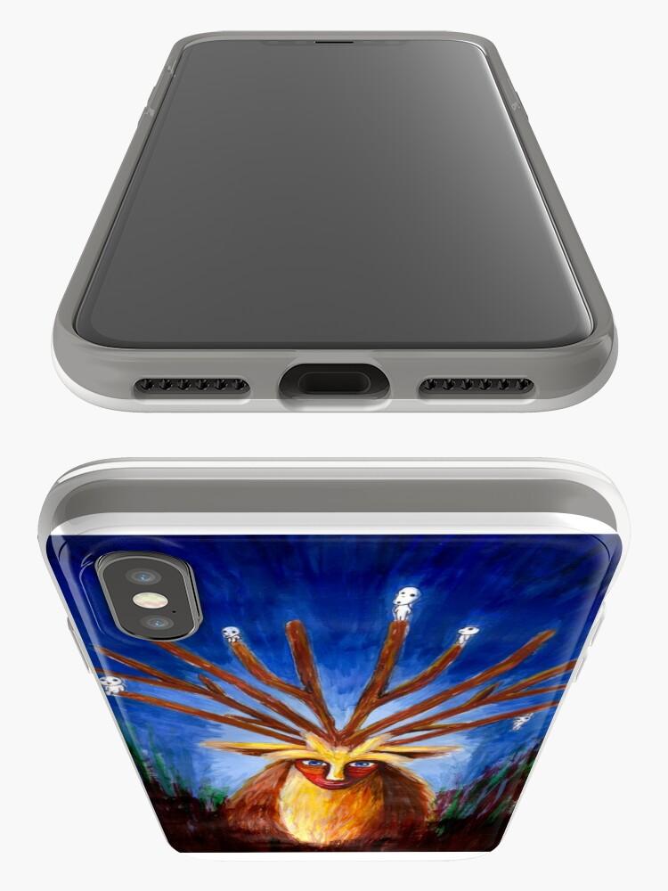 Alternative Ansicht von Dieux Cerf (Prinzessin Mononoke) iPhone-Hülle & Cover