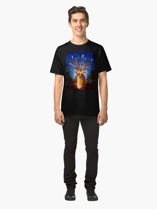 Alternative Ansicht von Dieux Cerf (Prinzessin Mononoke) Classic T-Shirt