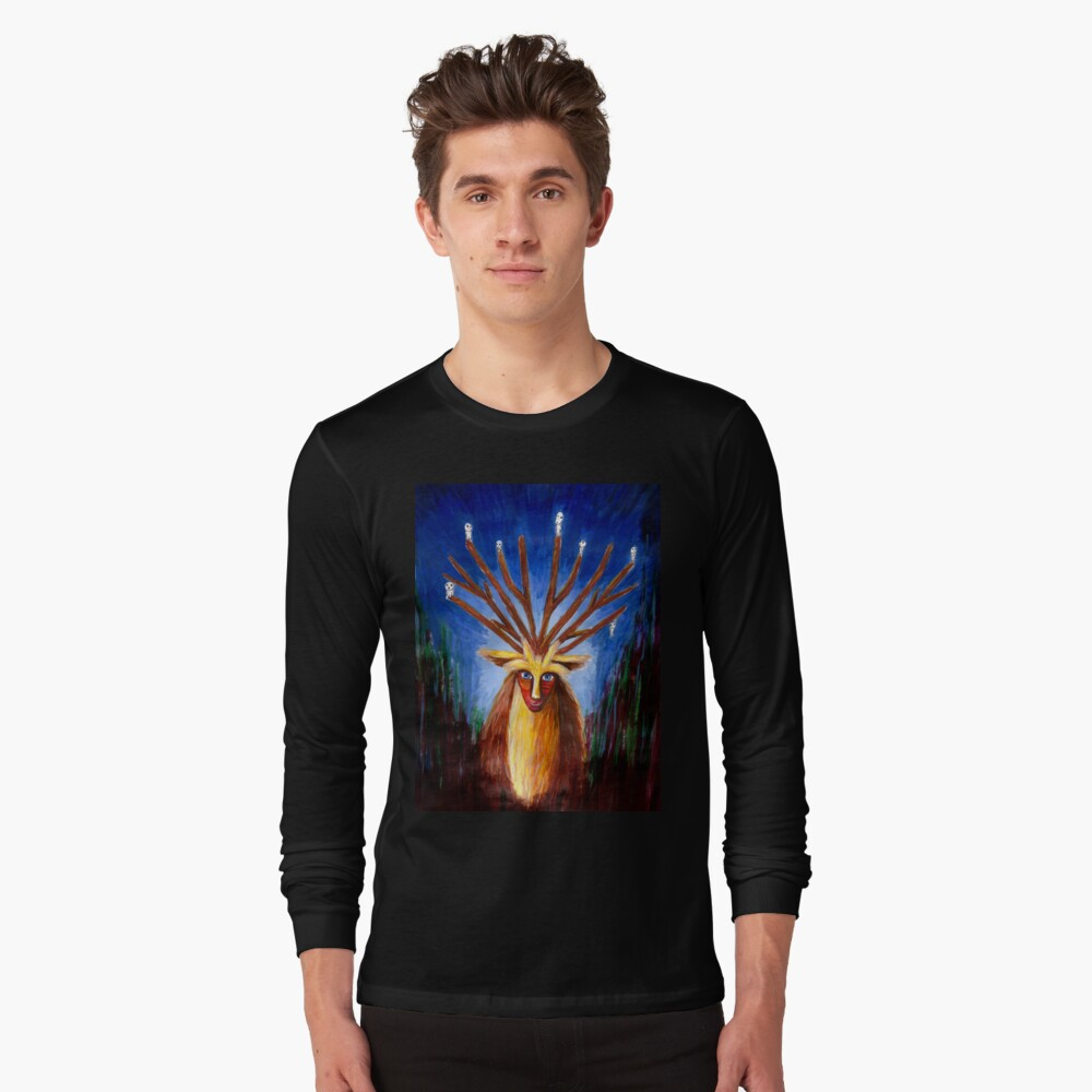 Dieux Cerf (Prinzessin Mononoke) Langarmshirt