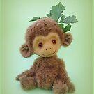 Handmade bears from Teddy Bear Orphans - Charlie Chimp by Penny Bonser