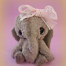 Handmade bears from Teddy Bear Orphans - Audrey Elephant by Penny Bonser
