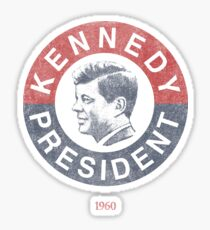 Vintage 1960 Kennedy for President T-Shirt Sticker