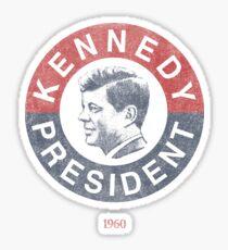 Vintage 1960 Kennedy for President T-Shirt Sticker