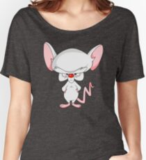 Pinky and The Brain - Brain Women's Relaxed Fit T-Shirt