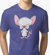 Pinky and The Brain - Brain Tri-blend T-Shirt
