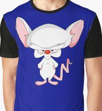 Pinky and The Brain - Brain Graphic T-Shirt