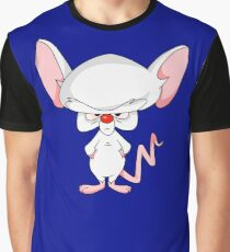 Pinky and The Brain - Brain Graphic T-Shirt