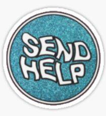 SEND HELP - HALSEY Sticker