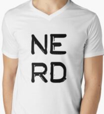NERD Men's V-Neck T-Shirt