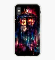 tardis dr who paint  iPhone Case