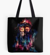 tardis dr who paint  Tote Bag