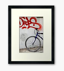 step outside Framed Print