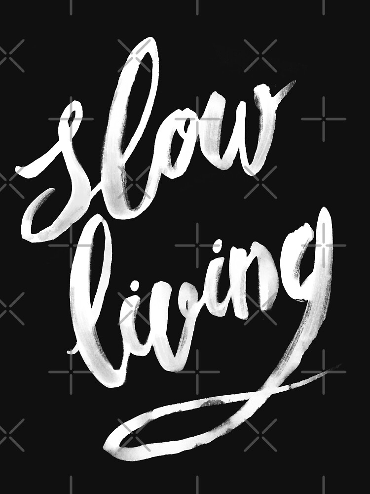 Slow living - white by medusadollmaker