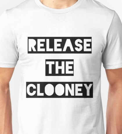 Release the Clooney (Black). T-Shirt