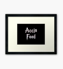 Accio Food Framed Print