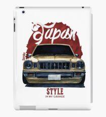 Japan car in my garage iPad Case/Skin