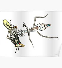 Bugs Cute Weird Random Cool Insects Nature Poster