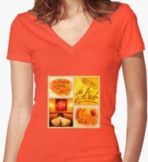 Originale da Alberto Women's Fitted V-Neck T-Shirt