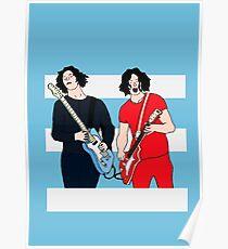 Jack White - The White Stripes Poster