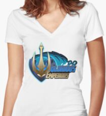 Glorious Emperors Women's Fitted V-Neck T-Shirt
