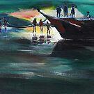 Fishing Line by Anil Nene