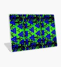Blue Boomarang Laptop Skin