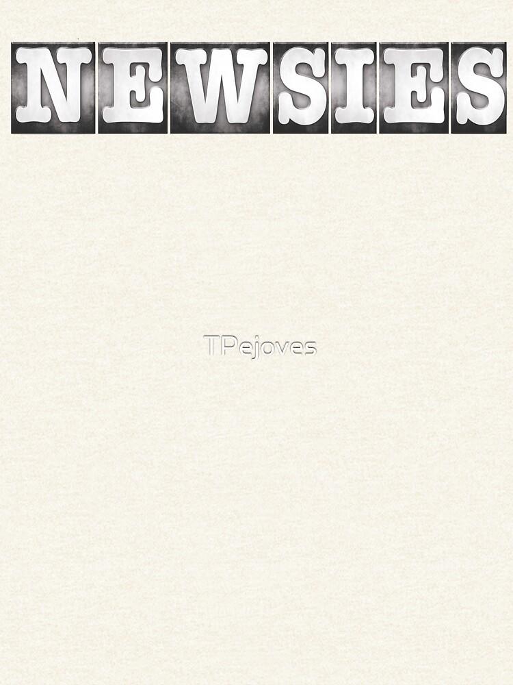 Logotipo de Newsies de TPejoves
