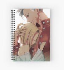 Cuaderno de espiral Ban y Elaine