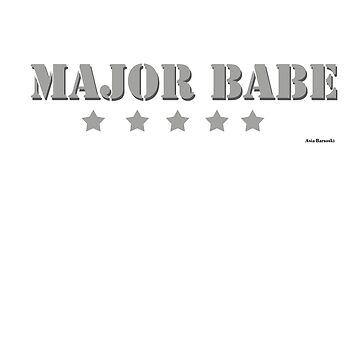 Major Babe by abarsoski