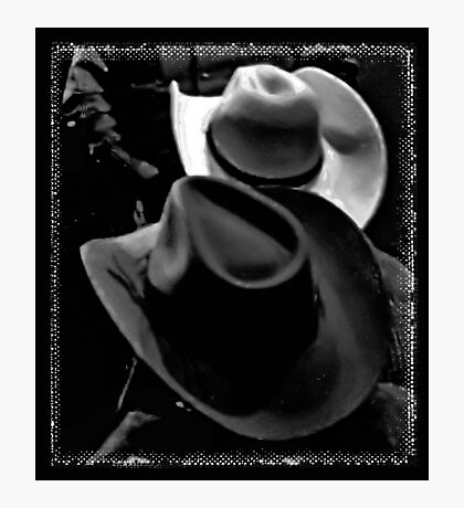 """HATS, Cowboy Style""... prints and products Photographic Print"