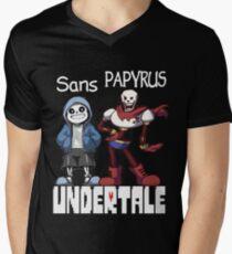 Sans and Papyrus Men's V-Neck T-Shirt