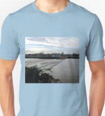 Weir at Exeter Devon UK Unisex T-Shirt
