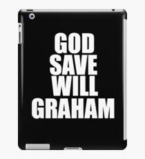 GOD SAVE WILL GRAHAM - Hannibal iPad Case/Skin
