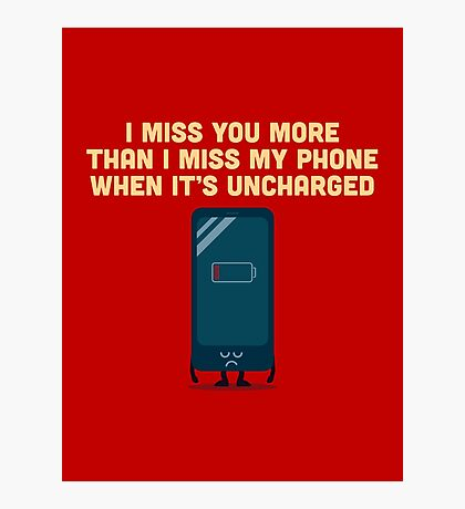 Character Building - Uncharged valentines Photographic Print