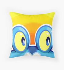 Froakie Throw Pillow