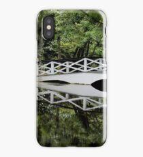 Magnolia Plantation - White Bridge iPhone Case/Skin