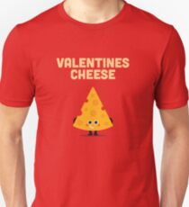 Character Building - Valentines cheese T-Shirt