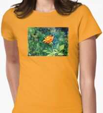 Orange Queen Womens Fitted T-Shirt