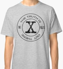 X-Files The Truth Is Out There Classic T-Shirt