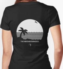 Wiped Out! by The Neighbourhood Women's Fitted V-Neck T-Shirt