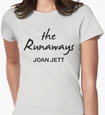 The Runaways Joan Jett Womens Fitted T-Shirt