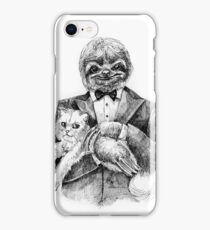 Evil genius iPhone Case/Skin