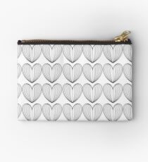 Faceted Heart Studio Pouch