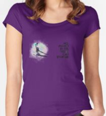River Tam - No Power in the 'Verse (Colorful Cosmos) Women's Fitted Scoop T-Shirt