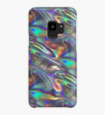 silver holographic Case/Skin for Samsung Galaxy
