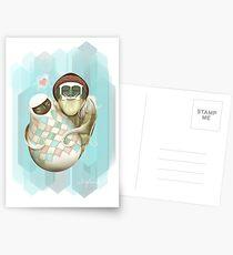 Zelda Yeti Valentine Postcards