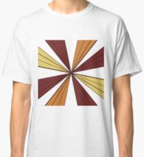Red, Gold, and Orange Snowflake  Classic T-Shirt