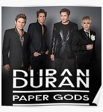 Duran Duran Paper Gods 2016 Poster
