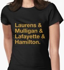 Hamilton Names Women's Fitted T-Shirt